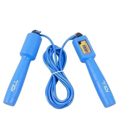 Fox Fitness Sayaçlı Atlama İpi Mavi ZJ-164
