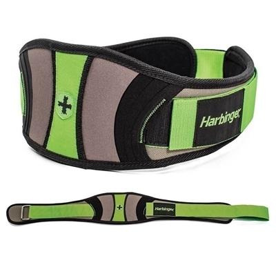Harbinger Women\'s Contoured Flexfit Belt Siyah-Yeşil