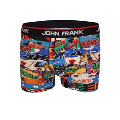 John Frank Dijital Baskılı Boxer Çok Renkli - OMG JFB100