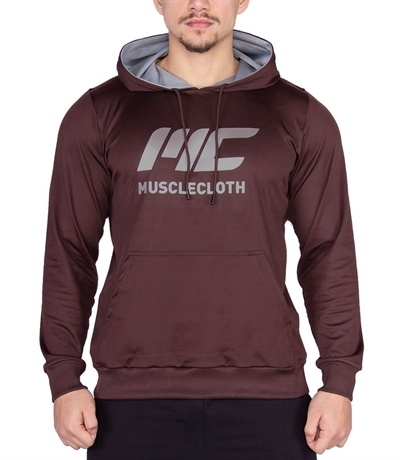 MuscleCloth Pro Kapüşonlu Sweatshirt Bordo