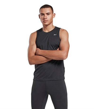 Reebok Running Essentials Speedwick Kolsuz T-Shirt Siyah