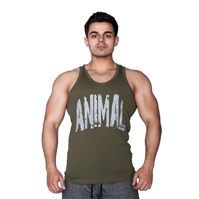 Supplementler Animal Tank Top Yeşil Gri