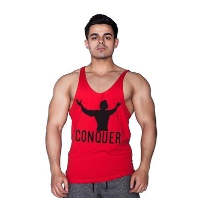 Supplementler Conquer Fitness Atleti Kırmızı