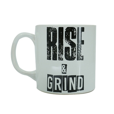 Supplementler Rise And Grind Kupa Beyaz