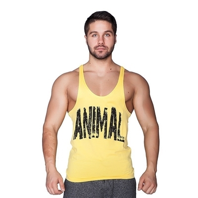 Supplementler Animal Fitness Atleti Sarı