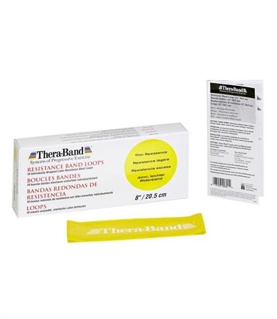 TheraBand Professional Resistance Direnç Lastiği 7.6 cm x 20.5 Sarı