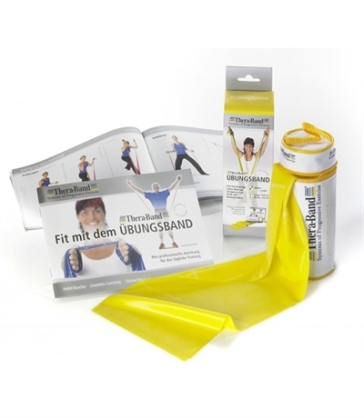 TheraBand Professional Resistance Direnç Lastiği 2.5 mt Taşıma Çantalı Sarı