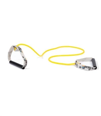 TheraBand Professional Resistance Tubing 1.4 mt With Hard Pvc Direnç Lastiği Sarı