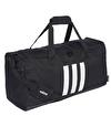 Adidas 3 Stripes Duffel Çanta Siyah