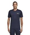 Adidas Essentials Plain T-Shirt Lacivert