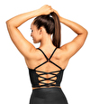 Better Bodies Vesey Strap Top Atlet Siyah