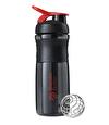 Blender Bottle Sportmixer Siyah Kırmızı 760 ml