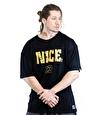 Gorillast Nc Oversize T-Shirt Siyah
