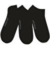 John Frank Üçlü Kısa Çorap Siyah