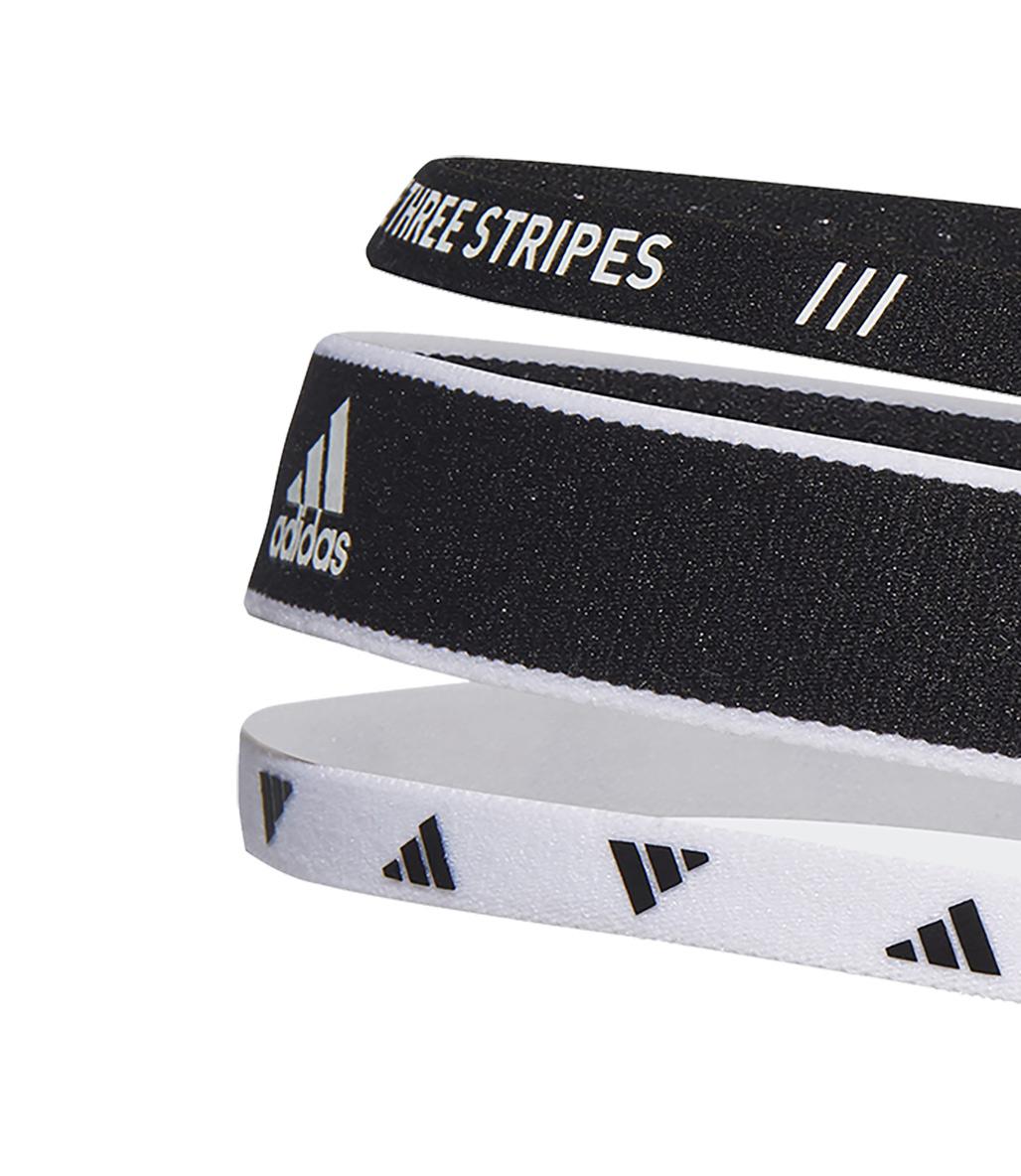 Adidas 3'lü Saç Bandı Siyah