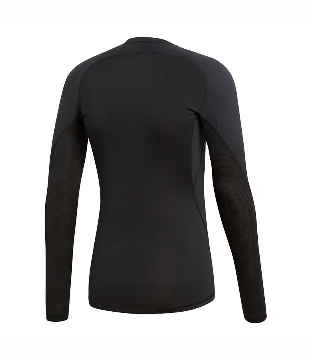 Adidas Alphaskin Sport Uzun Kollu T-Shirt Siyah
