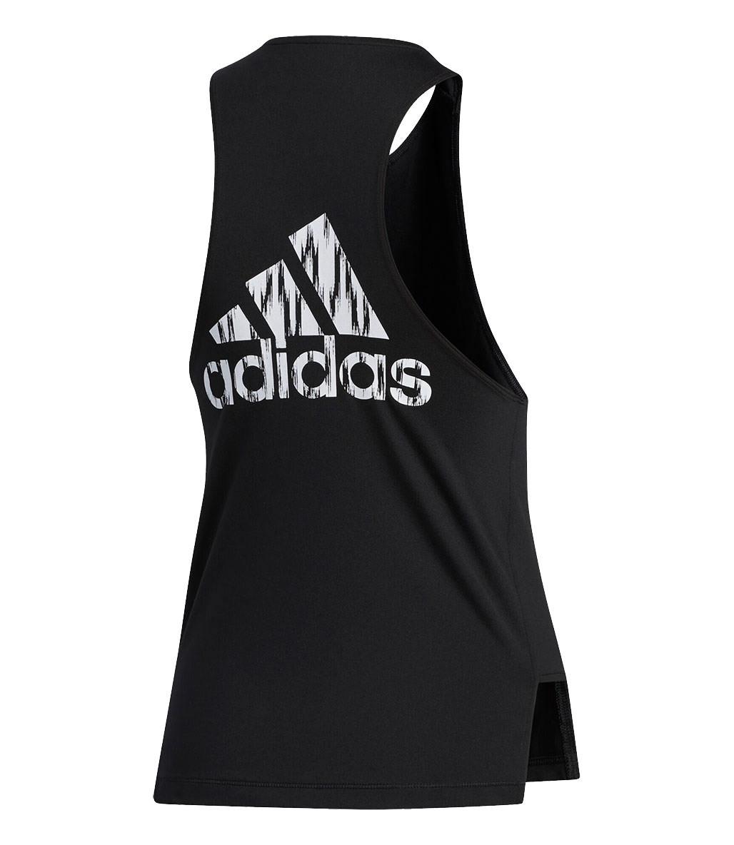 Adidas Badge Of Sport Tank Top Siyah-Beyaz