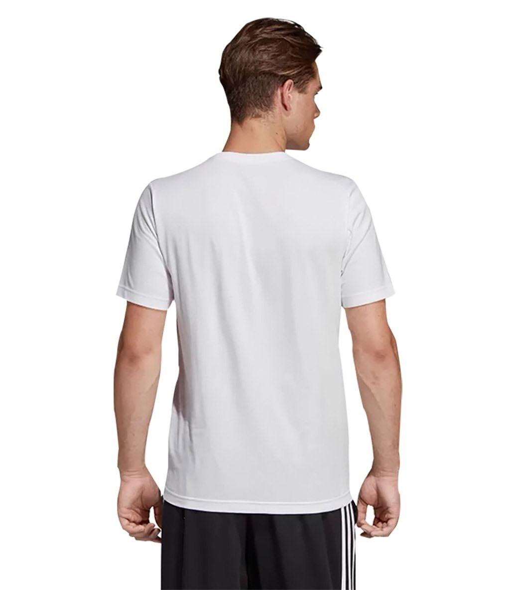 Adidas Essentials Plain T-Shirt Beyaz