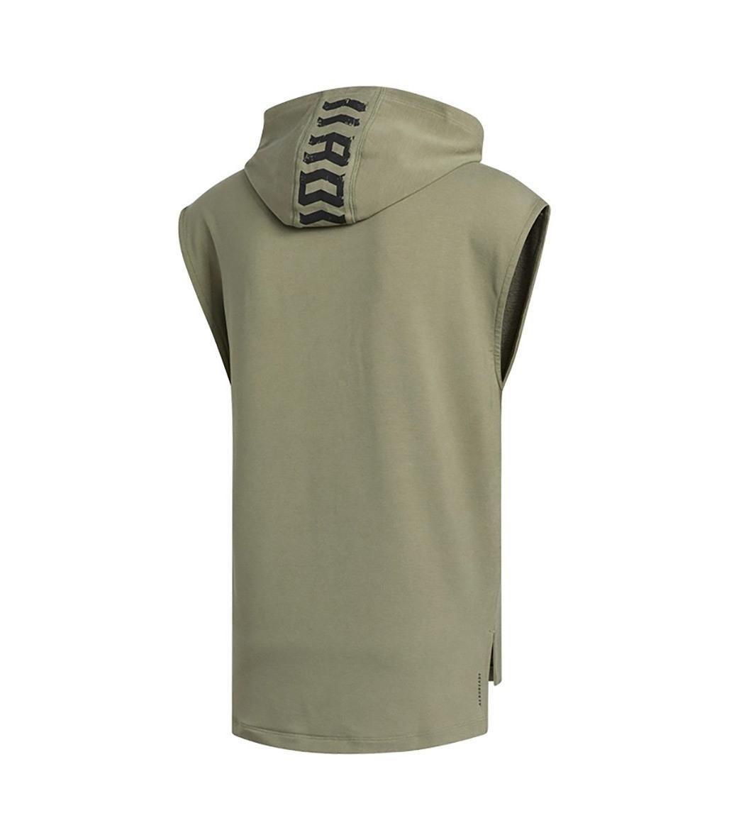 Adidas Tko Hooded Tee Kapüşonlu Kolsuz T-Shirt Haki