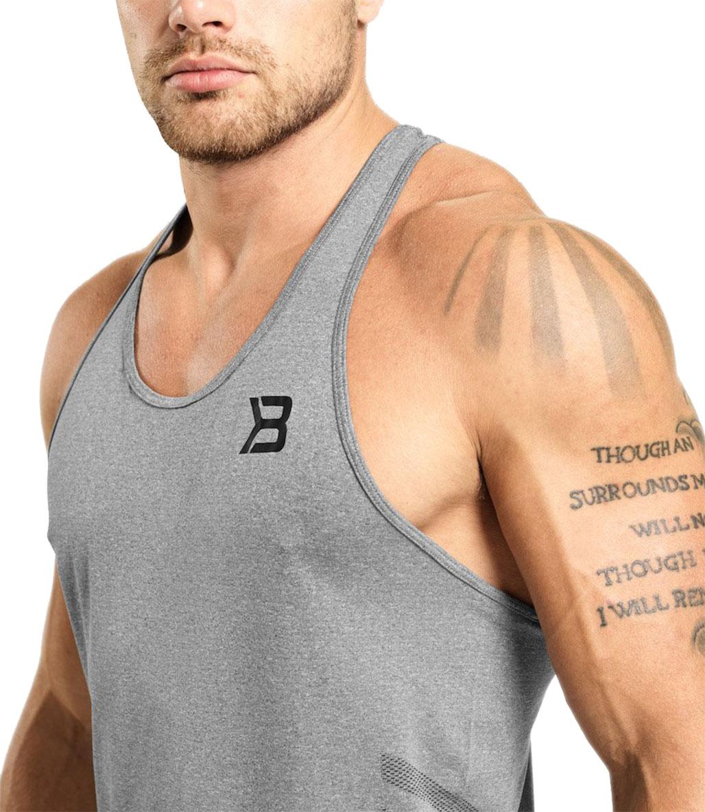 Better Bodies Hamilton Seamless Tank Atlet Gri Melanj
