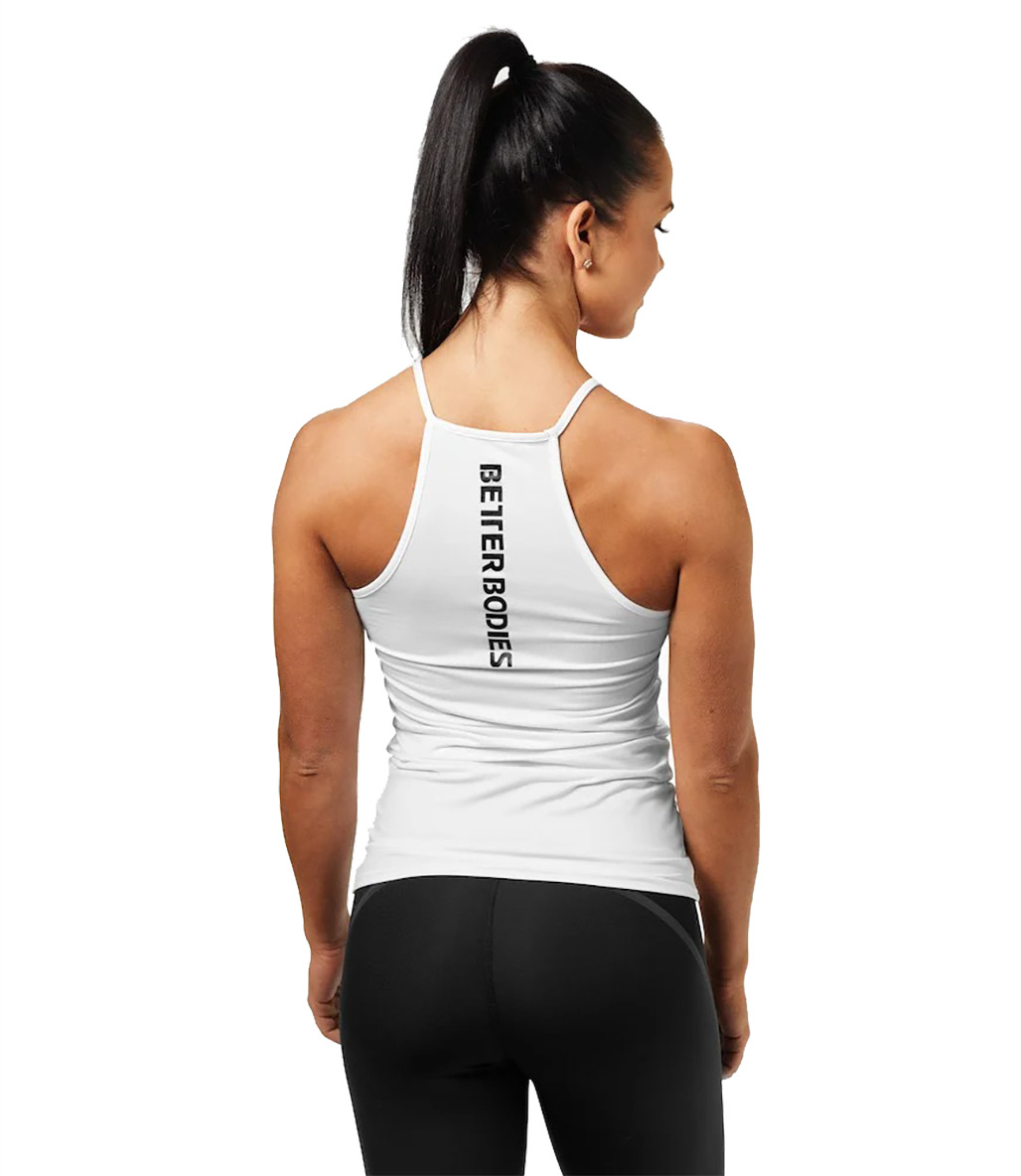 Better Bodies Performance Halter Atlet Beyaz