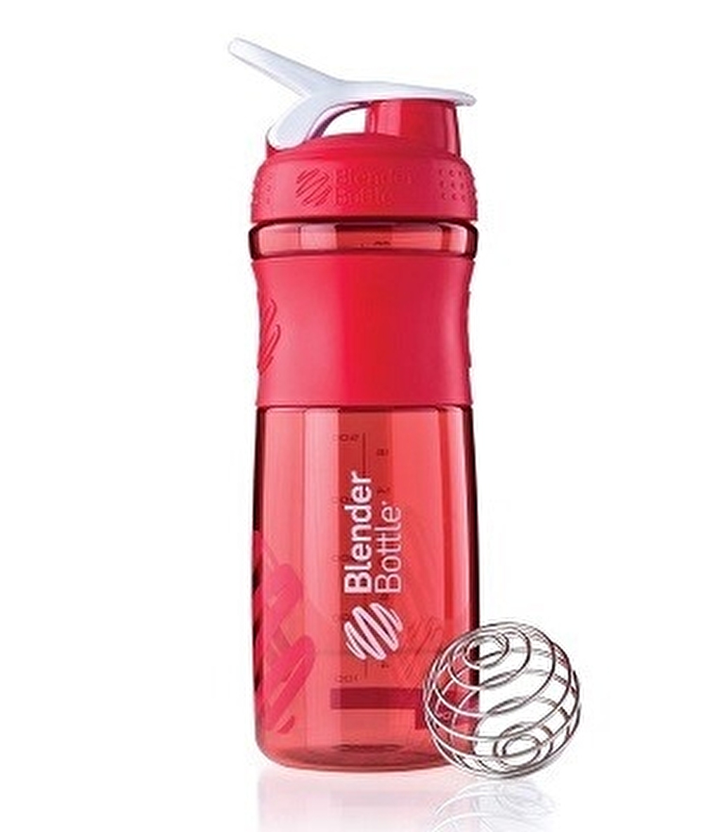Blender Bottle Sportmixer Kırmızı Beyaz 760 ml