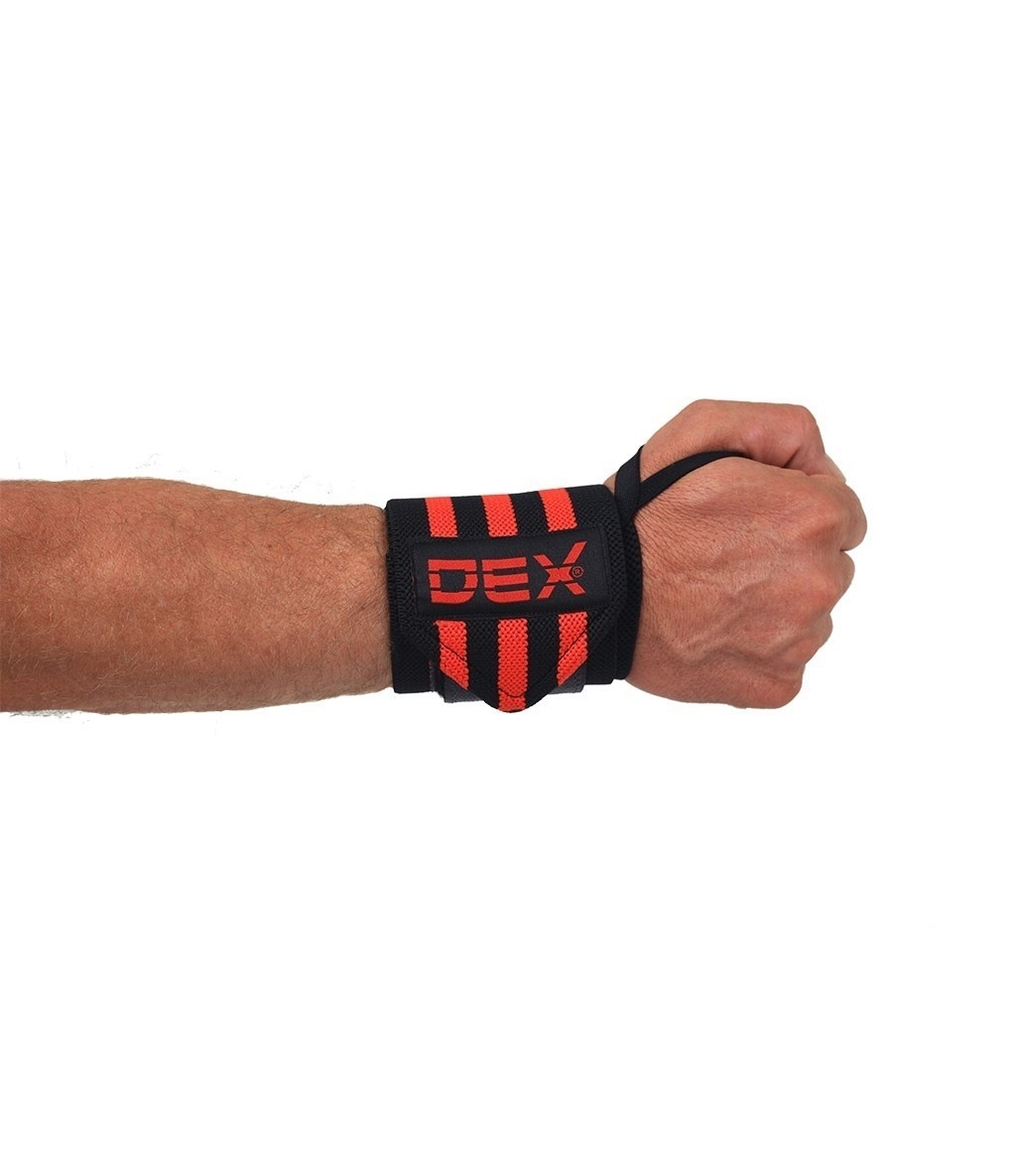 Dex Supports Wristwraps Siyah Kırmızı