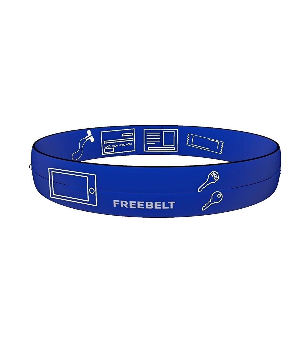 Freebelt Koşu Ve Fitness Bel Kemeri Saks Mavi