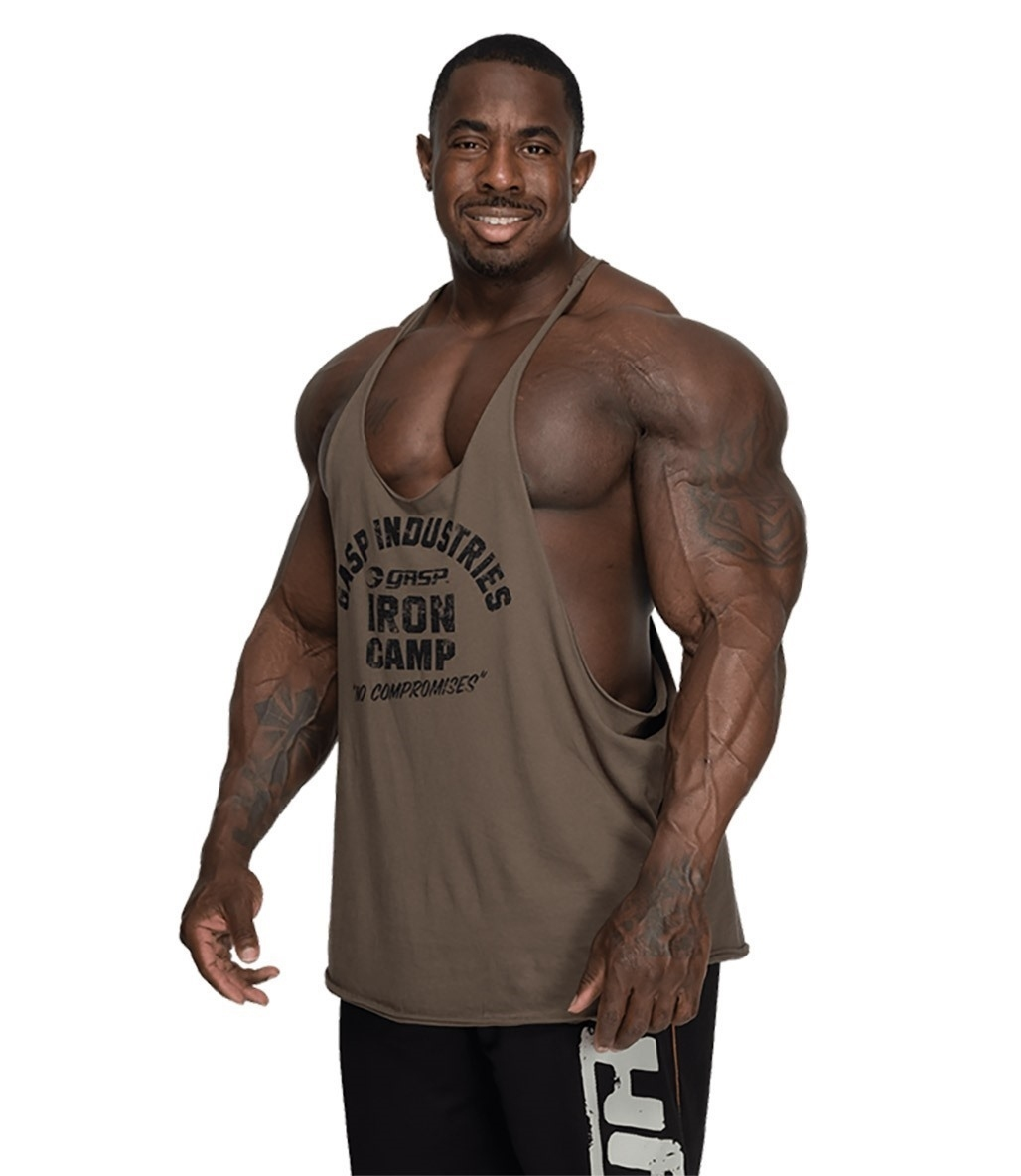 GASP Stringer Atlet Yeşil Siyah