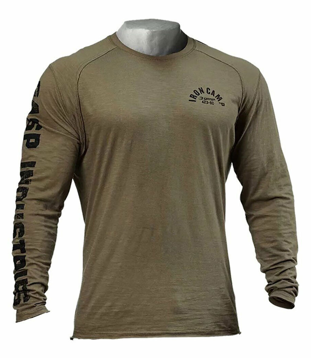 GASP Throwback Uzun Kollu T-Shirt Yeşil
