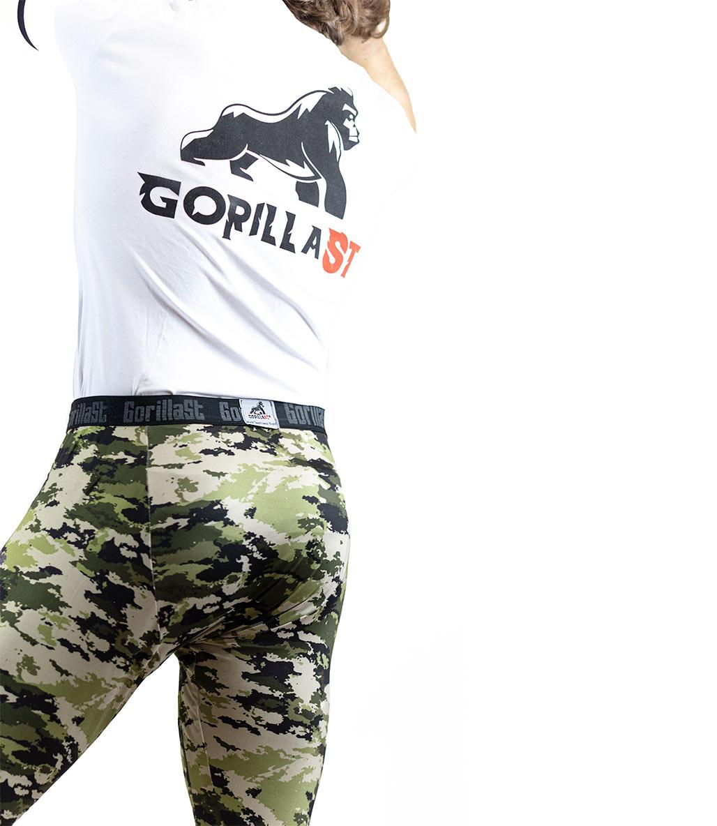 Gorillast Tayt Kamuflaj Yeşil