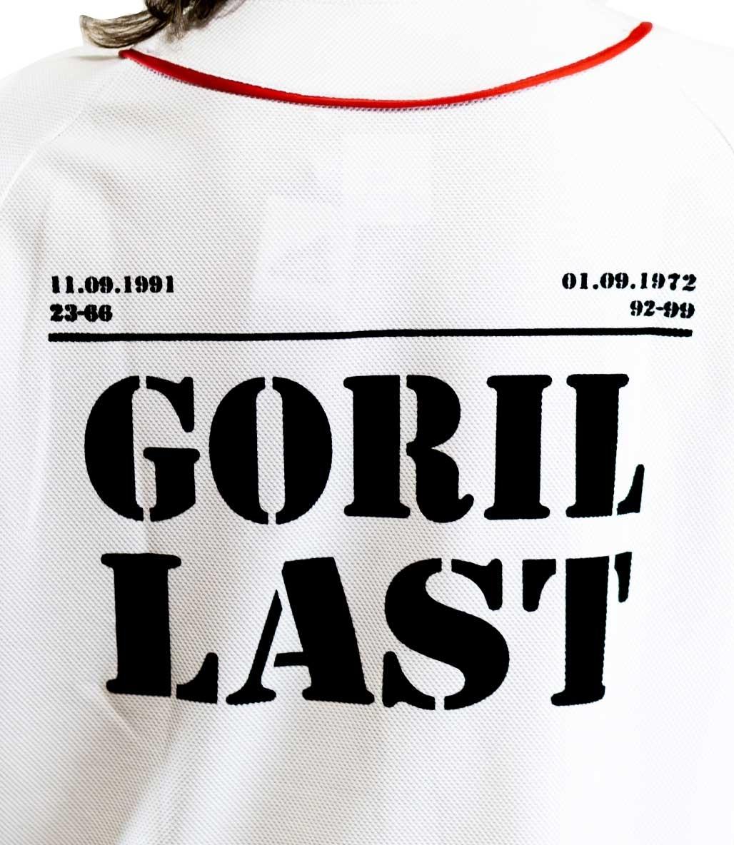 Gorillast Tx Gömlek Beyaz