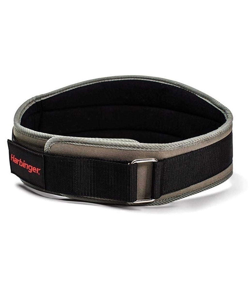 Harbinger Men's Contoured Flexfit Belt Kırmızı