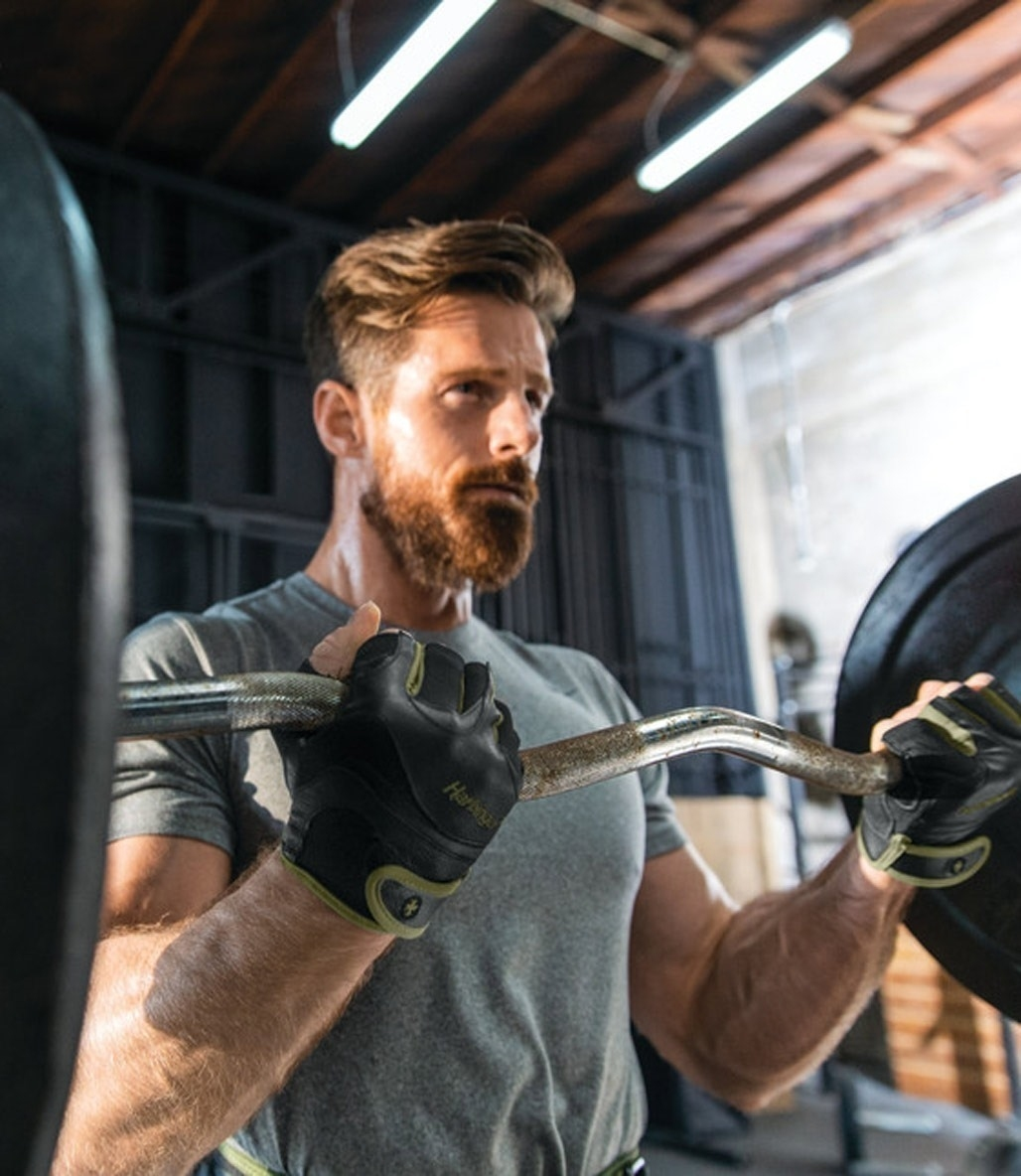 Harbinger Mens Flexfit W&D Fitness Eldiven Yeşil