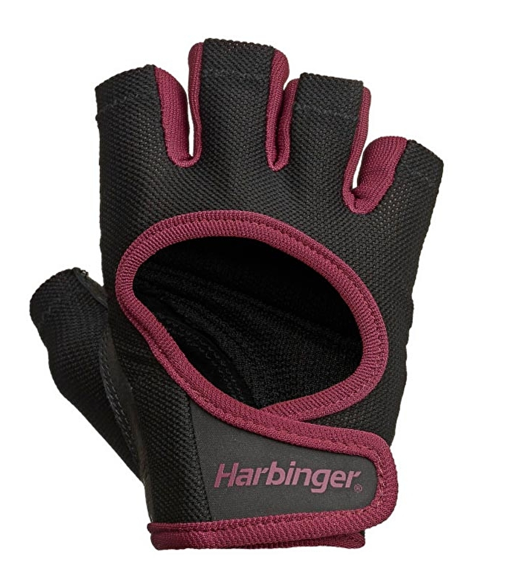 Harbinger Wmns Power Gloves Kadın Eldiven Siyah Bordo