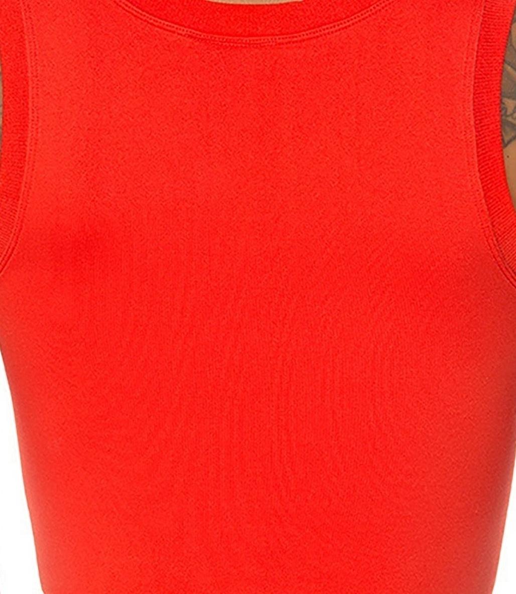 Jerf Linden Crop Top Kırmızı