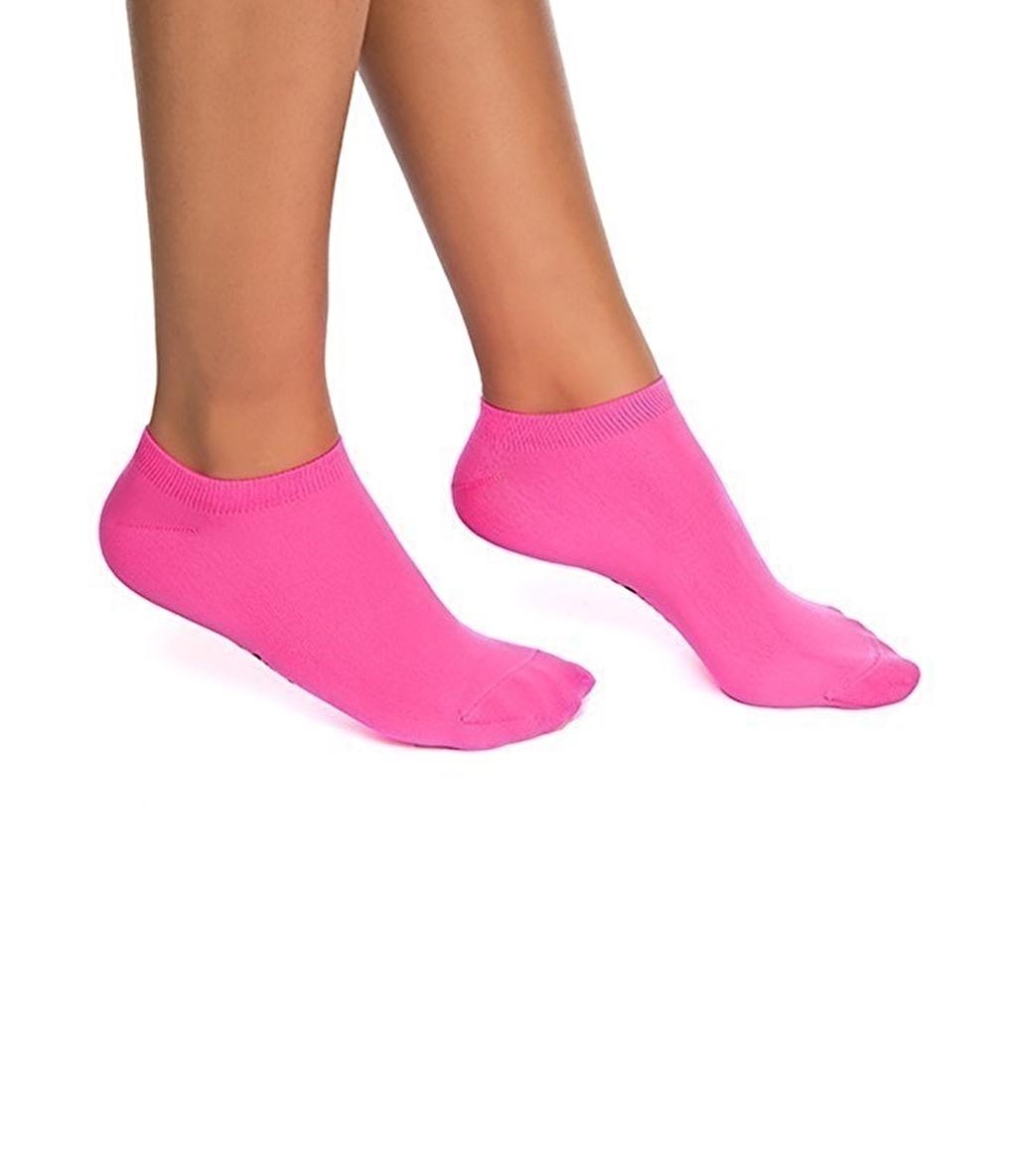 Jerf Patik Çorap Koyu Pembe