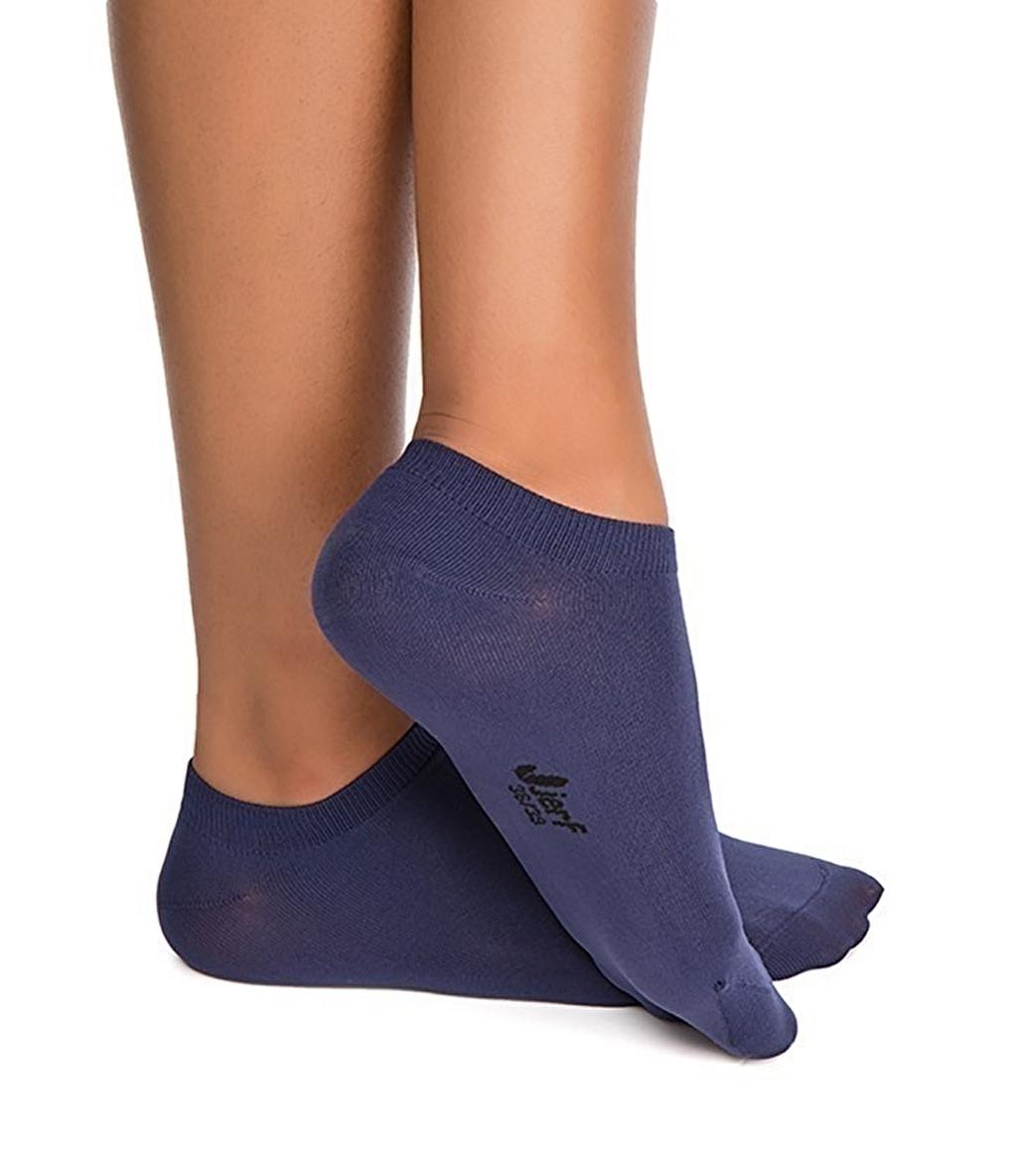 Jerf Patik Çorap Lacivert