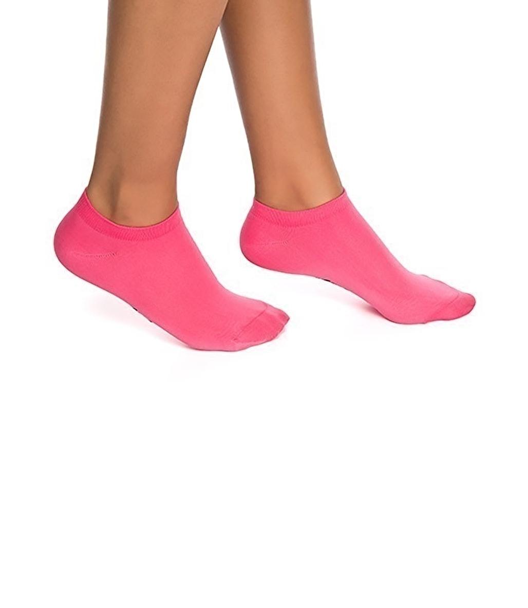 Jerf Patik Çorap Neon Pembe
