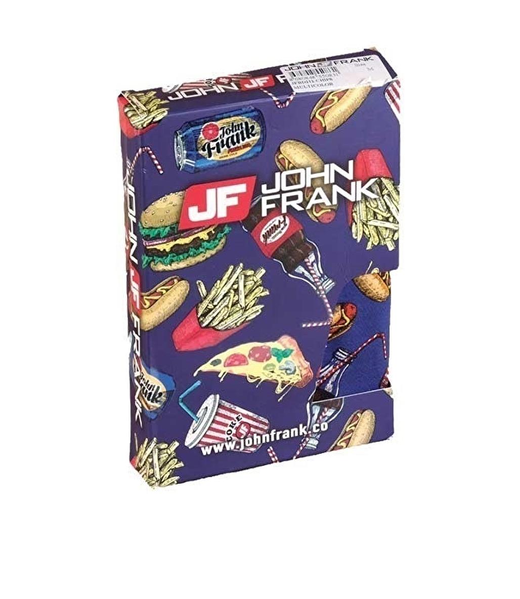 John Frank Dijital Baskılı Boxer Çok Renkli - Chips