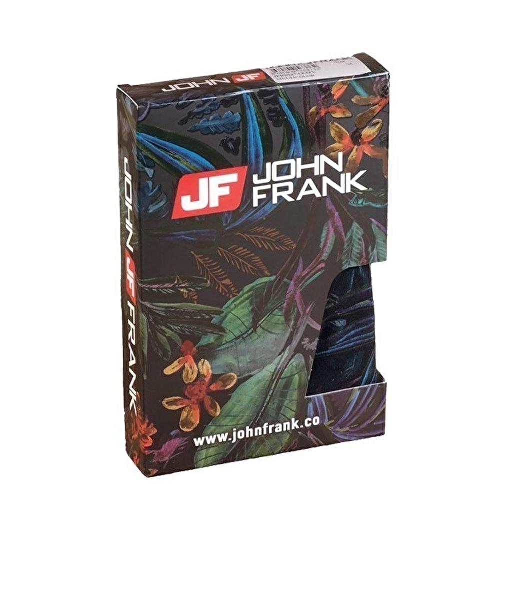 John Frank Dijital Baskılı Boxer Çok Renkli - Leafy