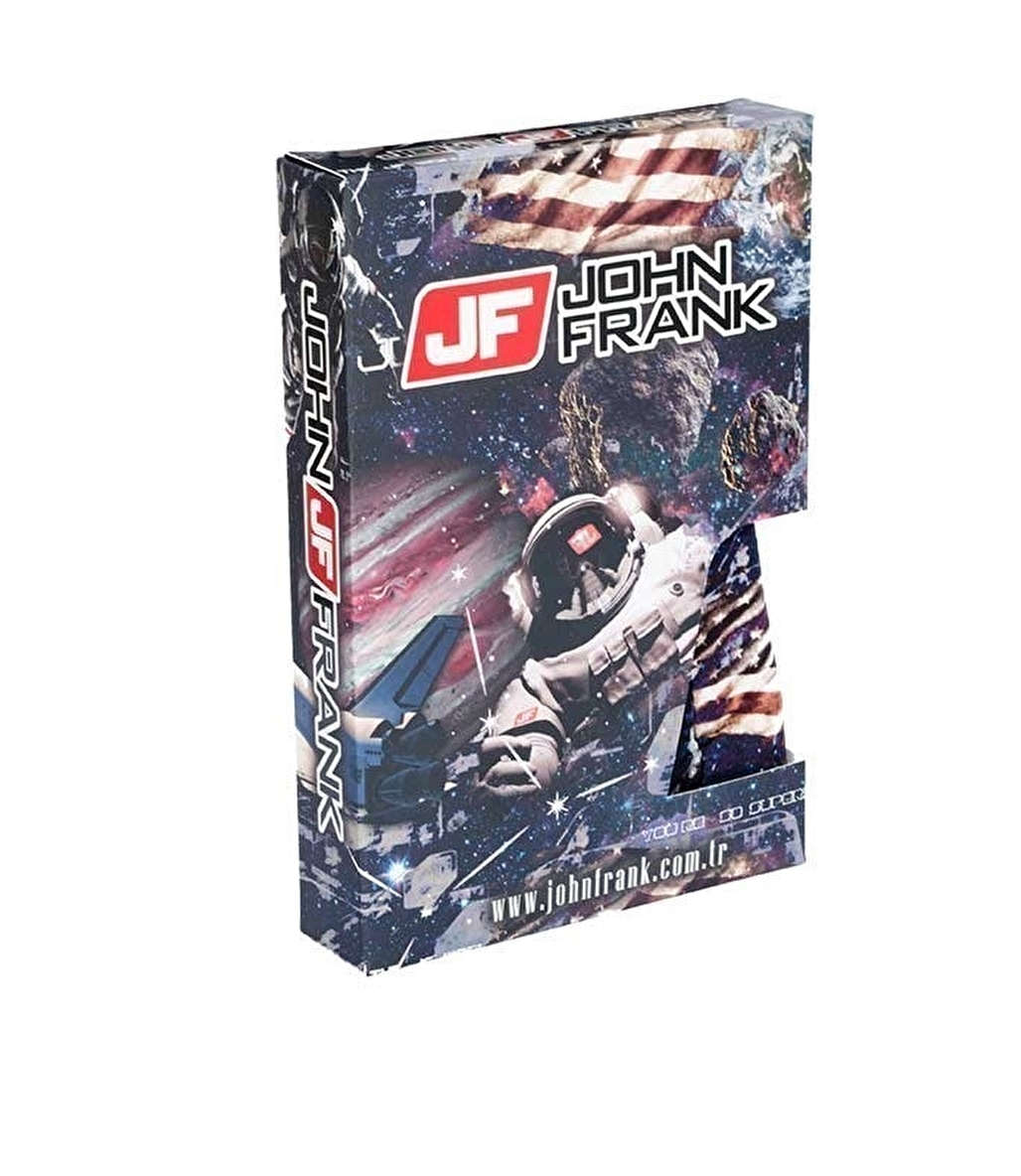 John Frank Dijital Baskılı Boxer Çok Renkli - Space