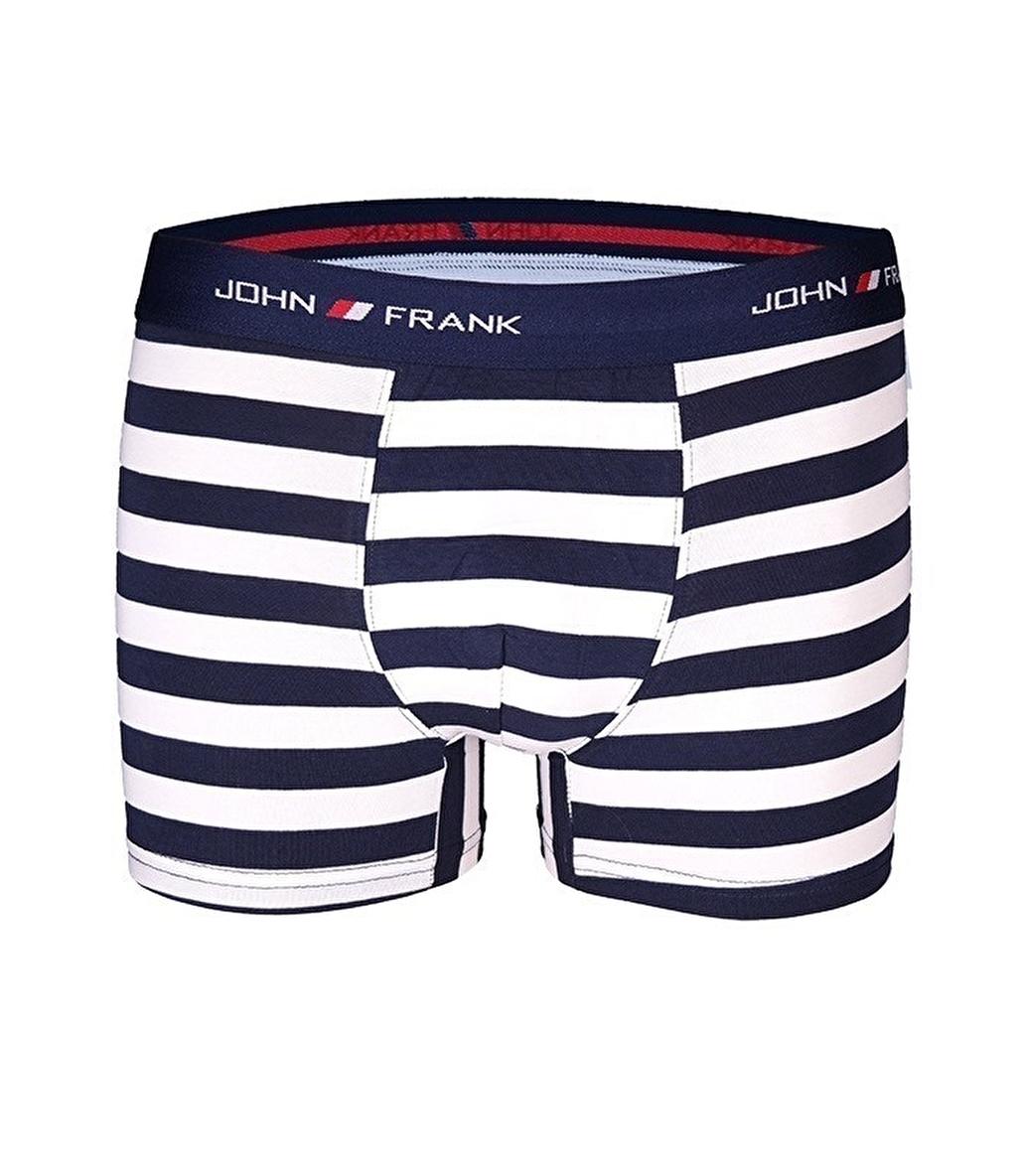 John Frank Üçlü Boxer Çok Renkli