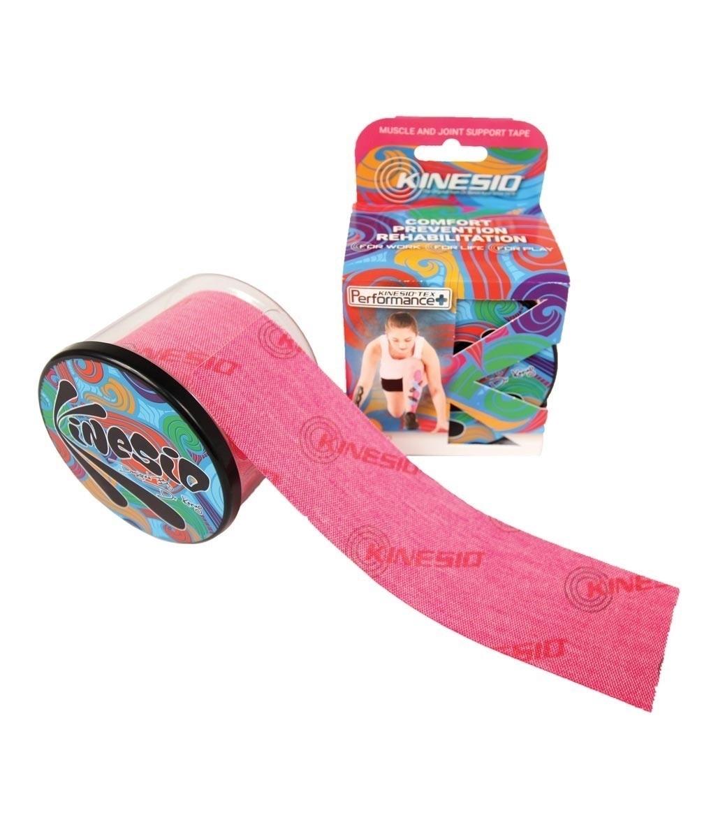 Kinesio Tape Tex Performance+ 5 cm X 5 m Logolu Ağrı Bandı Kırmızı