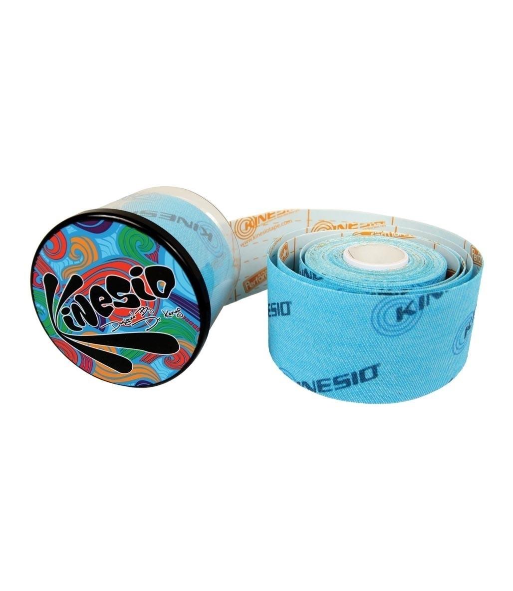 Kinesio Tape Tex Performance+ 5 cm X 5 m Logolu Ağrı Bandı Mavi
