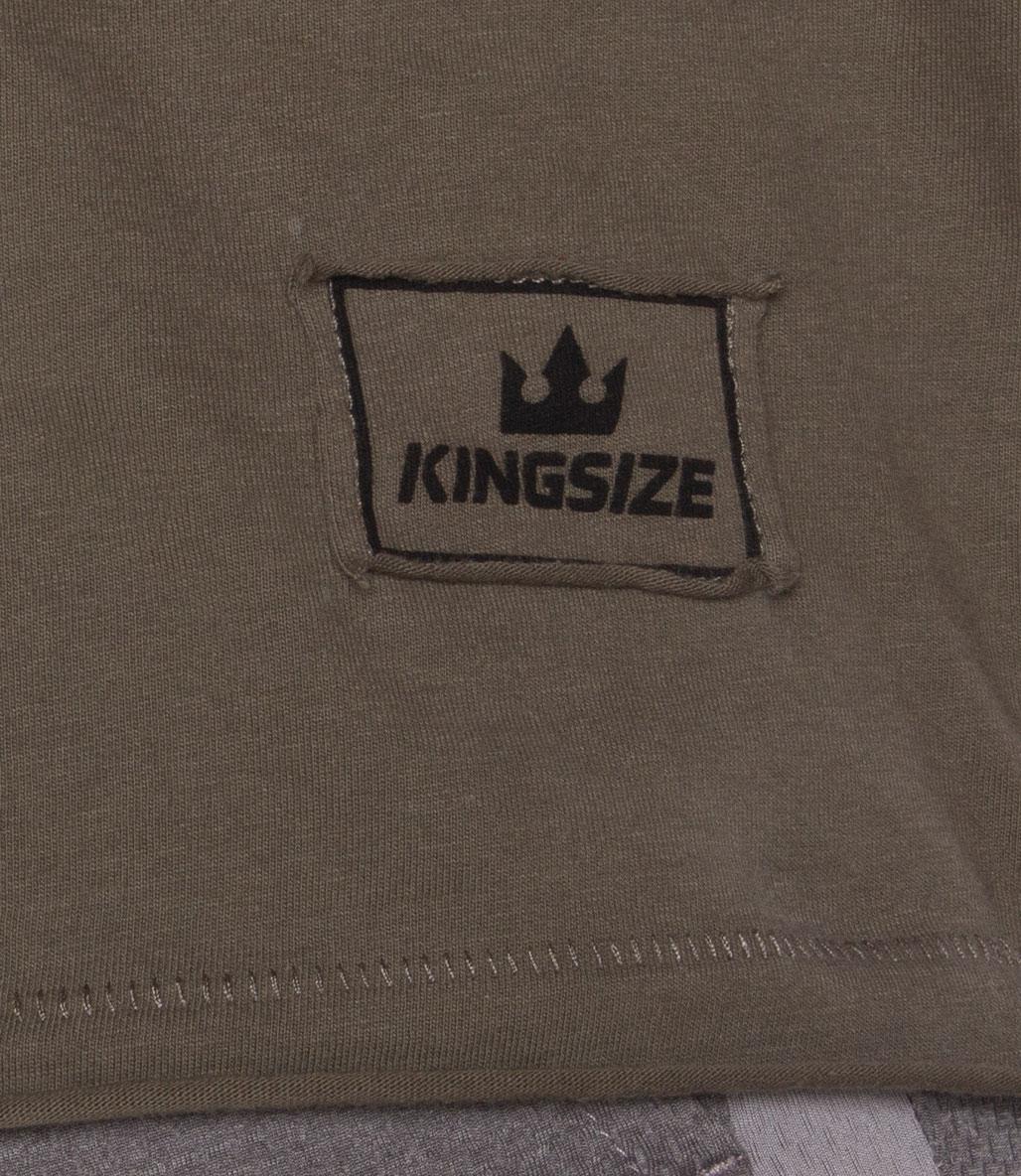 Kingsize Follow The King Antrenman Atleti Arka Baskılı Haki