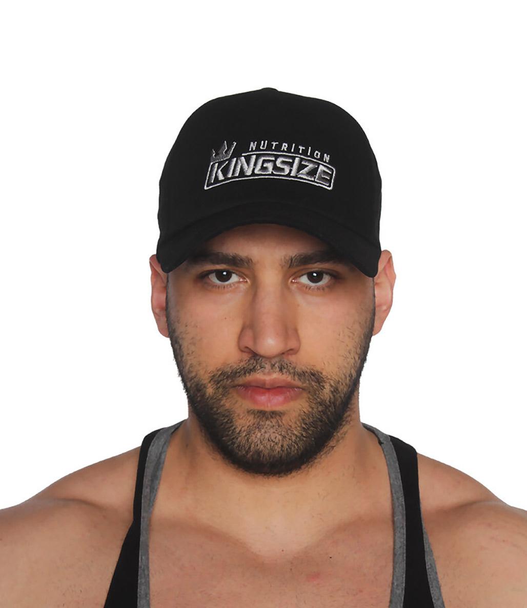 Kingsize Nutrition Fileli Şapka Siyah