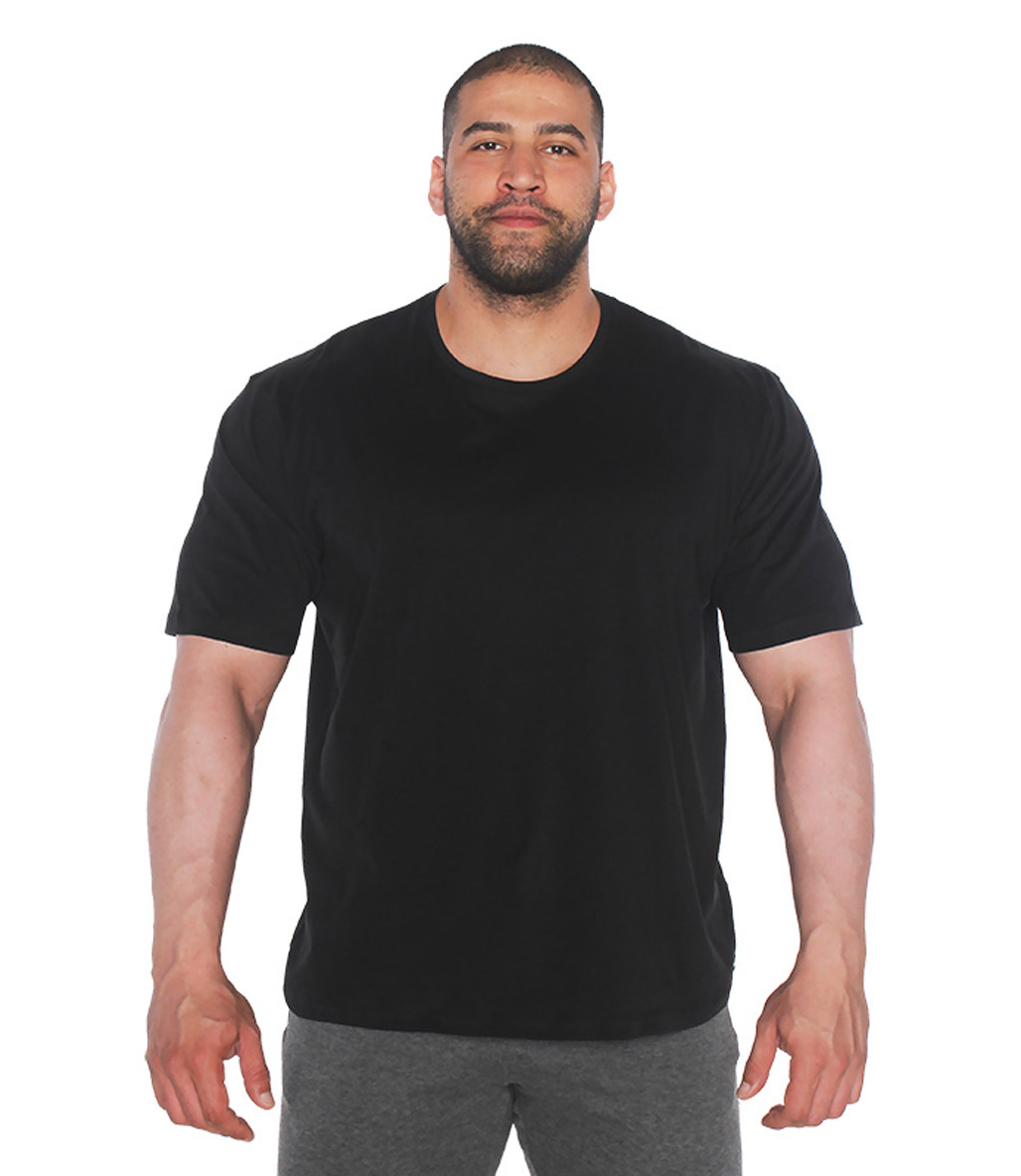 MuscleCloth Feel Alive Oversize T-Shirt Siyah