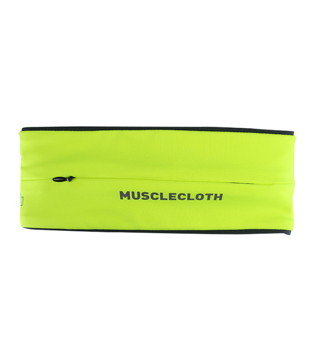 MuscleCloth Running Belt Bel Çantası Sarı
