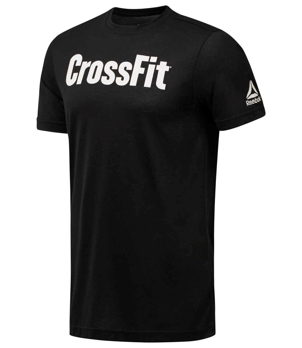 Reebok Crossfit Speedwick F.E.F. Graphic T-Shirt Siyah